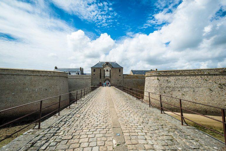 Balade sur les remparts de la citadelle de Port-Louis