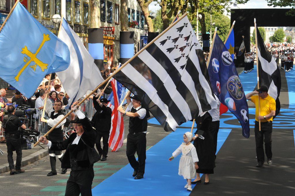 Grande Parade des Nations Celtes du festival interceltique de Lorient