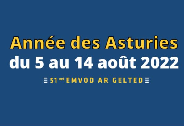 Festival Interceltique de Lorient 2022, Jahr von Asturien vom 5. bis 14 August.