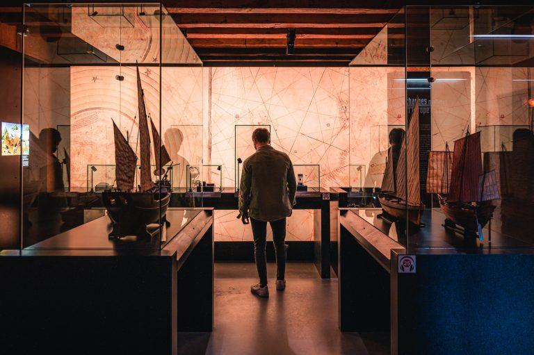 exposición en el Musée de la Compagnie des Indes
