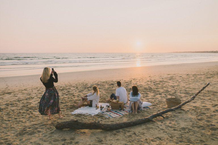 Guidel, la playa