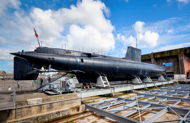 Lorient La Base: el submarino