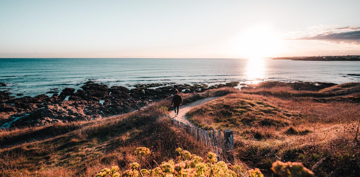 Paysage littoral en Guidel