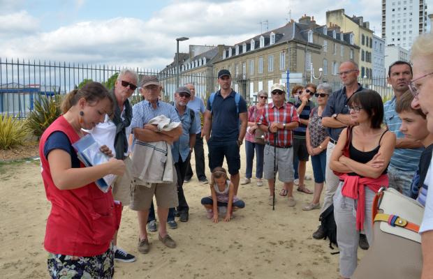 ©Robert LE GALL - Visite guidée de l'Enclos du Port Lorient avec La Maison de La Mer