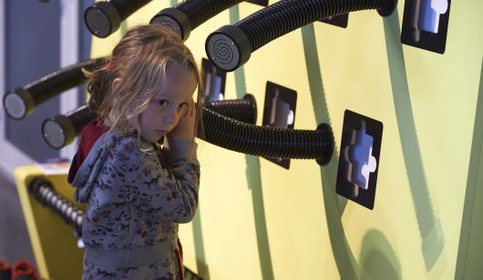 Cité de la Voile Eric Tabarly à Lorient, visite de l'exposition interactive.