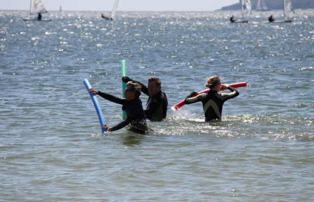 Sortie marche aquatique avec Kerguelen Sports Océan à Larmor-Plage