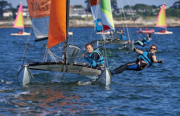 Cours de catamaran Kerguelen Sports Océan
