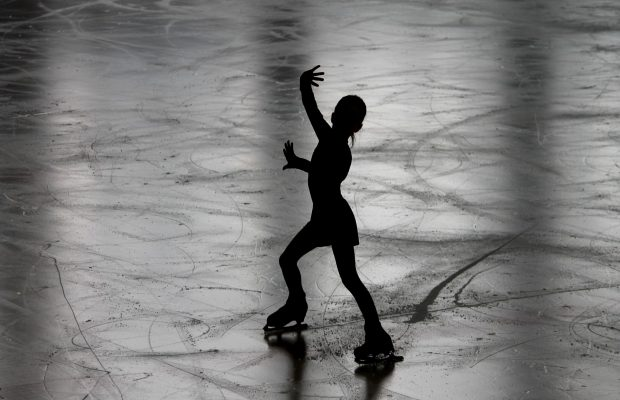 Figure skating patinoire