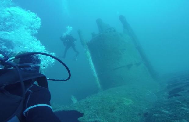 Plongée sur épave à Lorient Bretagne Sud.