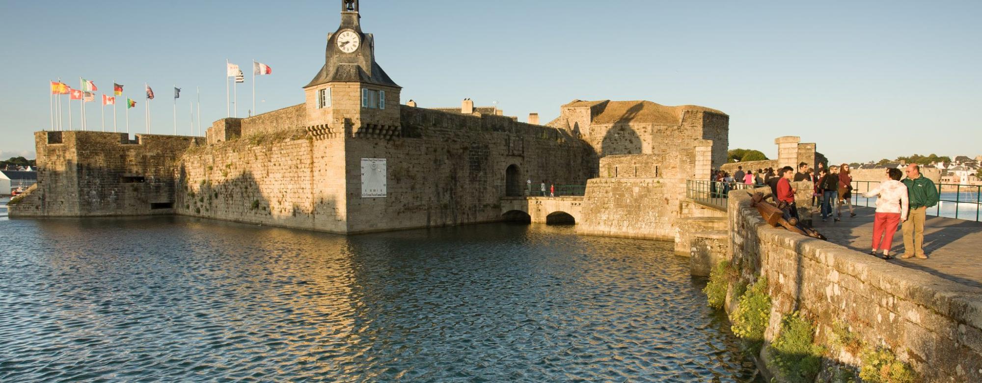 La ville close de Concarneau.