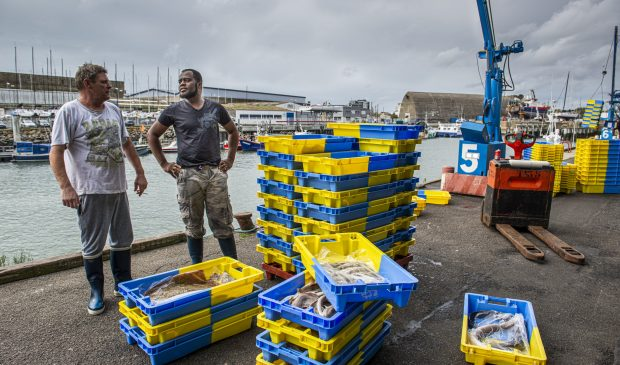 Puerto de pesca Lorient